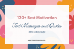 120+ best motivation text messages and quotes sms about life featured image
